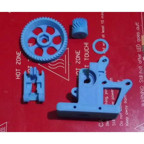 Wade extruder, 1,75mm fillament